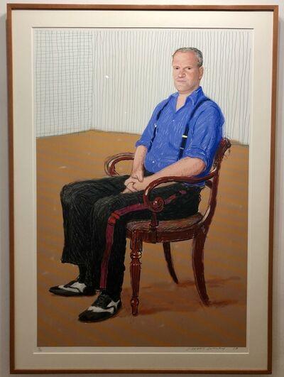 David Hockney, 'John Fitz-Herbert', 2008