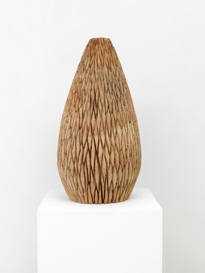 David Nash, 'Diamond Cut Egg', 2020