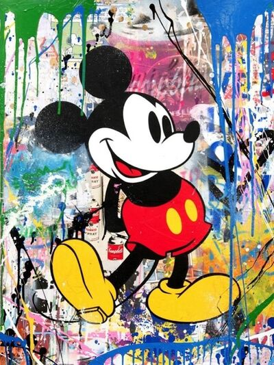 Mr. Brainwash, 'Mickey (Campbell`s Soup)', 2018