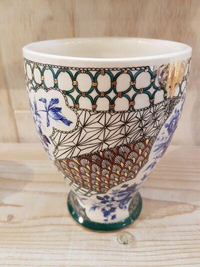 Melanie Sherman, 'Handpainted Vase', 2018