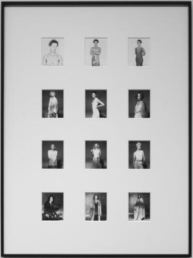 Gian Paolo Barbieri, 'Fashion Polaroids | (1st row) Untitled, Milano; (2nd and 3rd row) Untitled, Milano; (4th row) Melanie, Milano', 1996-1999