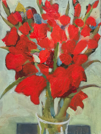 Katie Sollohub, 'Glad Gladioli in the Sun 2', 2017