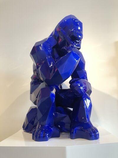 Richard Orlinski, 'Kong Penseur - Bleu Mick', 2019
