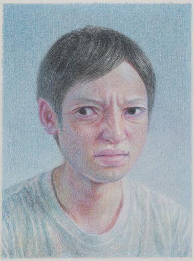 Korehiko Hino, 'Round Face', 2017