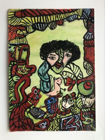 Janet Sobel, 'Untitled', 1943-1948