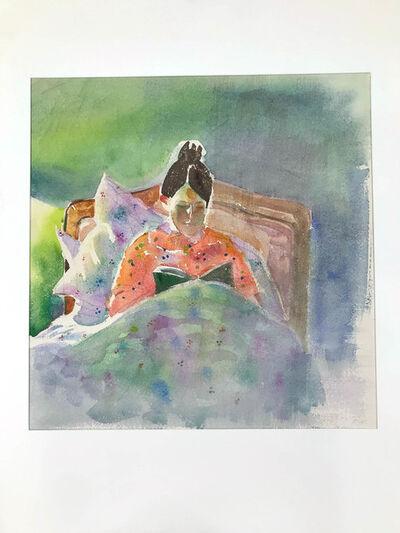 Helen Adams, 'Woman Reading in Bed'