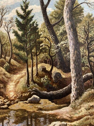 Thomas Hart Benton, 'In the Woods (Ozarks)', c. 1945