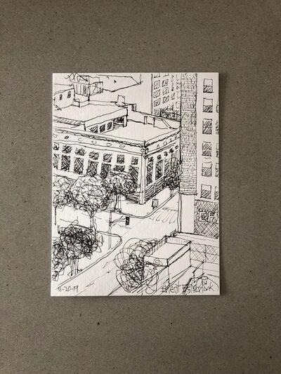 "Brent Estabrook, '""Morning Sketch"" 11-20-2019', 2019"