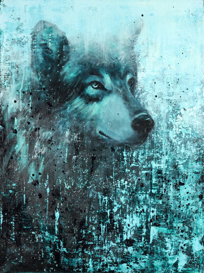 Matt Flint, 'Young Wolf', ca. 2019