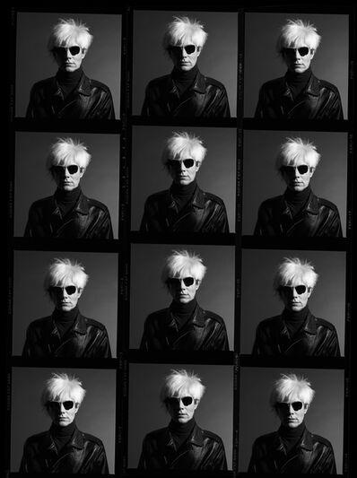 Greg Gorman, 'Andy Warhol Contact Sheet', 1986