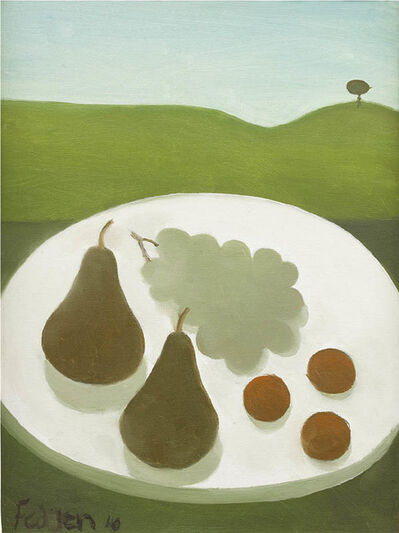 Mary Fedden, 'Fruit (Pears and Grapes)', 2010