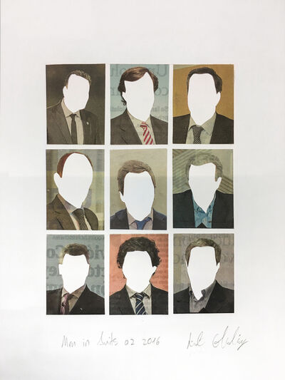 Liat Elbling, 'Men in Suits No.2', 2016