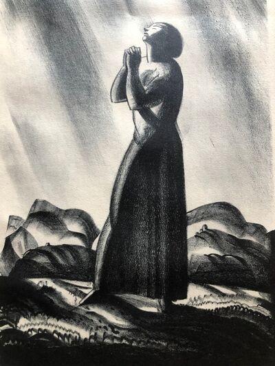 Rockwell Kent, 'Meditation', 1929