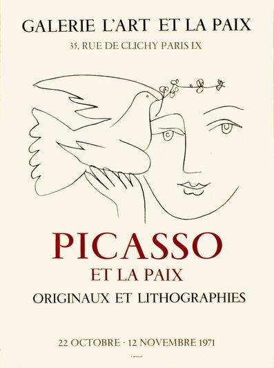 Pablo Picasso, 'L'Art et la Paix', 1971