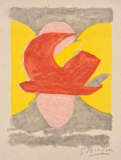 Georges Braque, ' Descente aux enfers planche 4', 1961