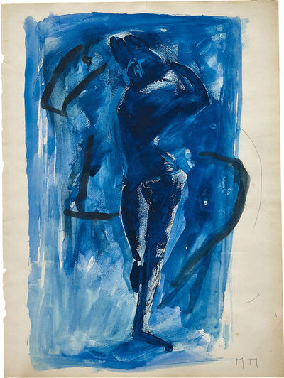 Marino Marini, 'Rapsodia in blu'