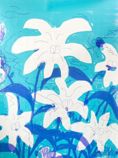 Stefan Marx, 'Turquoise Flowers', 2020