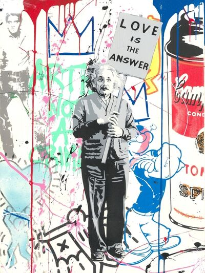 Mr. Brainwash, 'Einstein meets Elvis', 2019