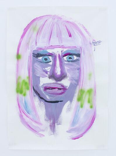 Manuel Solano, 'Portrait of Nicki Minaj', 2011