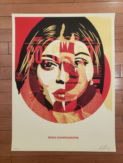 Shepard Fairey, 'Media Disintegration', 2016