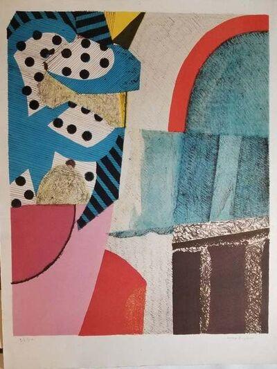 Max Papart, 'Paysage Parisien', ca. 1980