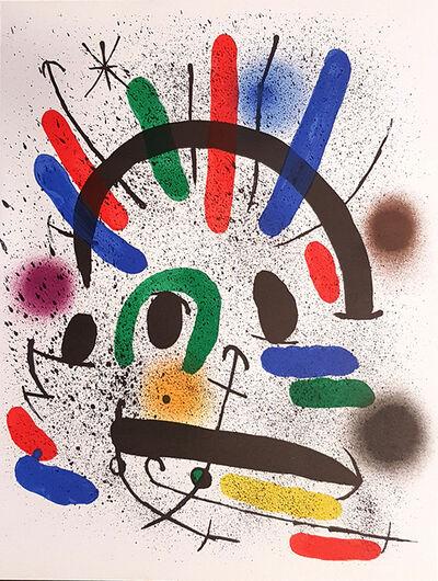 Joan Miró, 'Mirò Lithographe I - Plate II', 1972