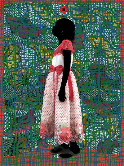 Saidou Dicko, 'HopeT Ginkgo Green Blue', 2020