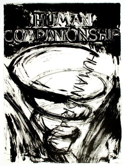 Bruce Nauman, 'Human Companionship, Human Drain', 1981