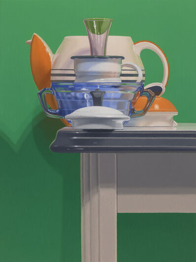 Harold Reddicliffe, 'Teapot, Coffee Pot, and Vase', 2018