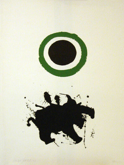 Adolph Gottlieb, 'Green Halo', 1966