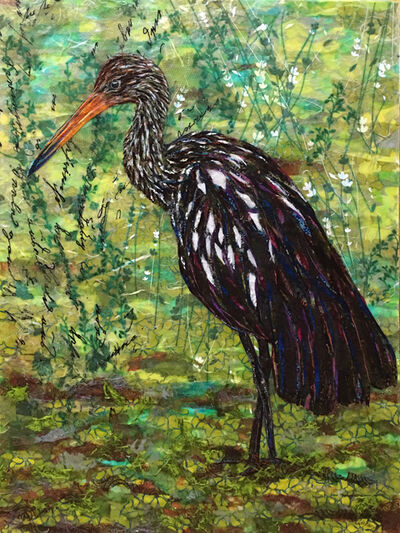 Laura Adams, 'The Limpkin', 2019
