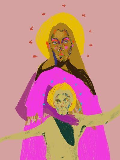 Kathryn Godoy, 'Madonna and Child', 2019