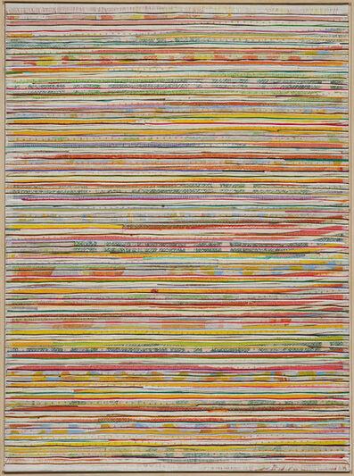 Eveline Kotai, 'Horizontal Pink', 2014