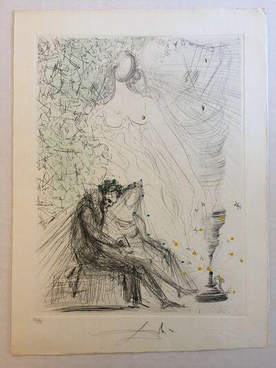 Salvador Dalí, 'Le Couple a la Bougie (Couple with a Candle)', 1968