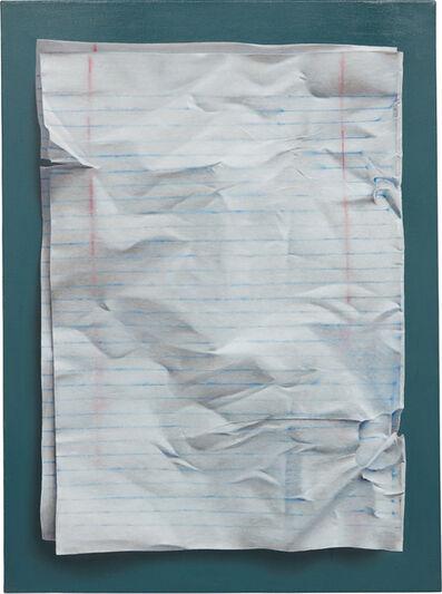 Natan Pernick, 'Notebook Paper', 2017
