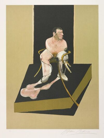 Francis Bacon, 'Triptych 1986-1987: Study for a portrait of John Edwards (S. 6)', 1987