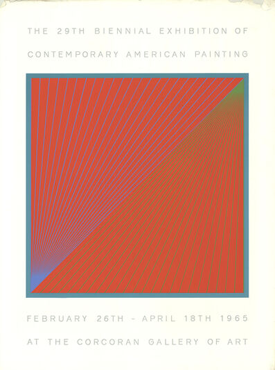 Richard Anuszkiewicz, 'The 29th Biennial Exhibition of Contemporary American Painting', 1965
