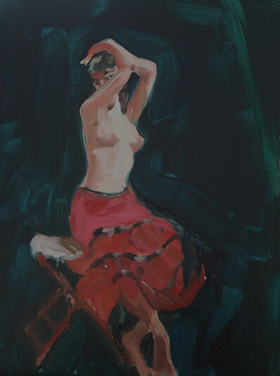 Anna Bjerger, 'Topless', 2010