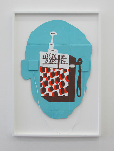 Soeren Behncke, 'Transistor Radiohead (Blue Version)', 2016