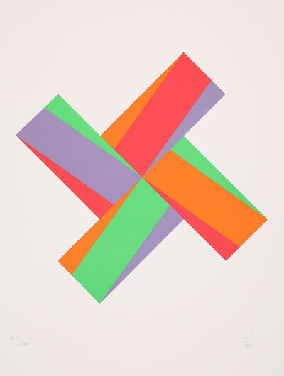 "Max Bill, 'untitled from the portfolio ""Kinderstern""', 1989"