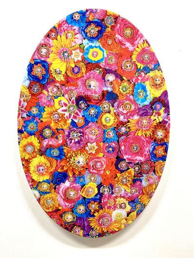 Tetsutaro Kamatani, 'PROLIFERATION- FLOWER FACE', 2020