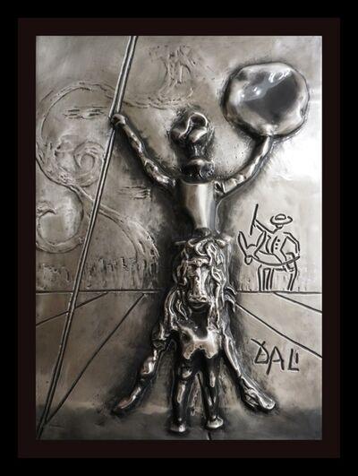 Salvador Dalí, 'Don Quixote Platinum Bas Relief', 1979