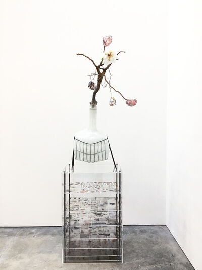 Jesse Krimes, 'Of Beauty and Decay; or, not (white)', 2018