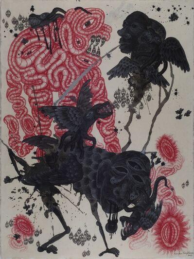 Kriangkrai Kongkhanun, 'Black Spittle', 2013