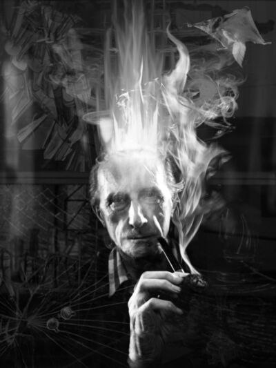 Jeffrey Vallance, 'Spirit Photo: Marcel Duchamp', 2012-2015