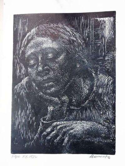 """Albert Abramovitz, 'Negro (The Negress"""") 1932', 1932"""
