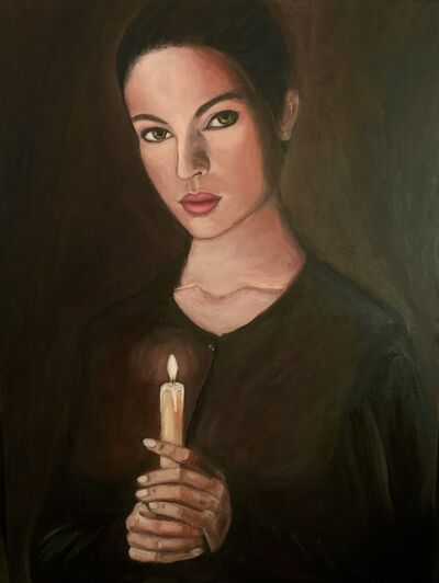 Hayam Elsayed, 'The Woman With a Golden Light', 2020
