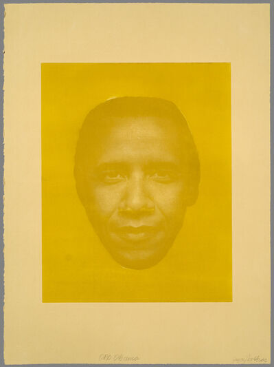 Joyce J. Scott, 'Oro Obama', 2012