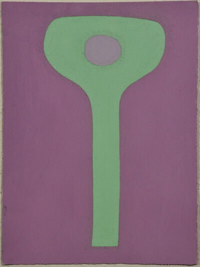 Julian Martin, 'Untitled (Green Object on Mauve)', 2011