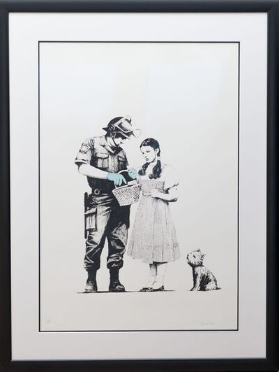 Banksy, 'Stop And Search (Signed)', 2009